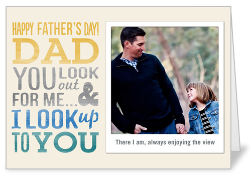 Sweet Deal Father's Day Card, Square Corners