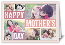 bold type collage mothers day card
