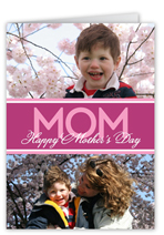 simply mom mothers day card