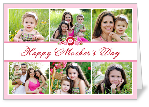 Bouquet Collage Mother's Day Card
