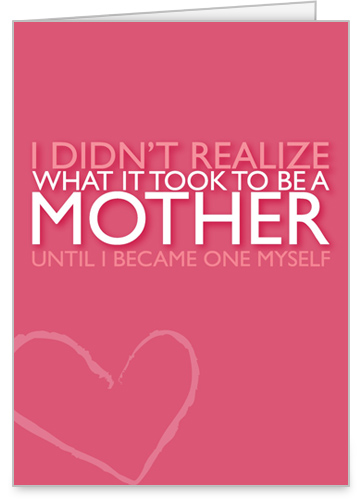 To Be Mother Mother's Day Card