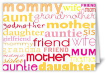 special women mothers day card