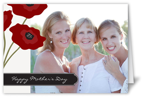 Perfect Poppies Mother's Day Card