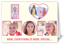 words and pictures mothers day card