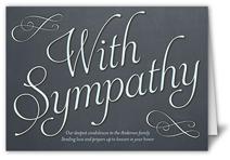 heartfelt sympathy sympathy card