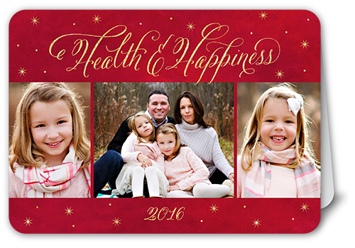 Amazing Grace Religious Christmas Card