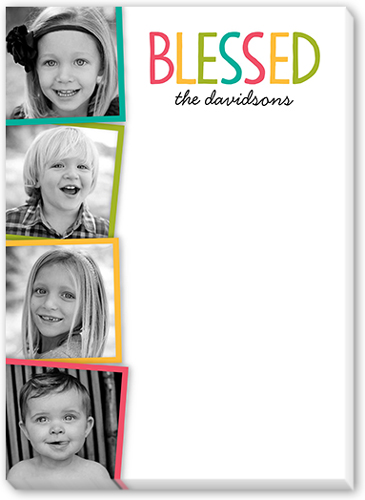 Blessed Collage 5x7 Notepad