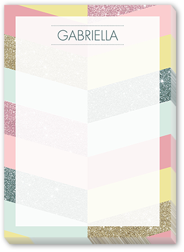 Striped Spectacular 5x7 Notepad