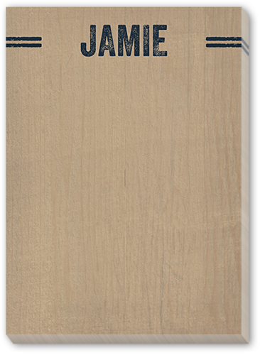 Natural Wood 5x7 Notepad