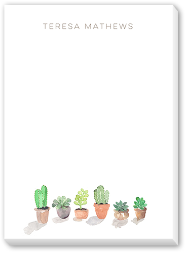 Potted Plants 5x7 Notepad