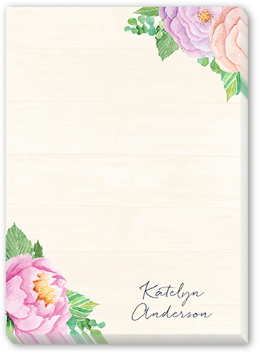 Floral Flair 5x7 Notepad