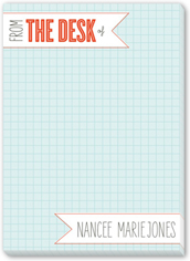 off the grid 5x7 notepad