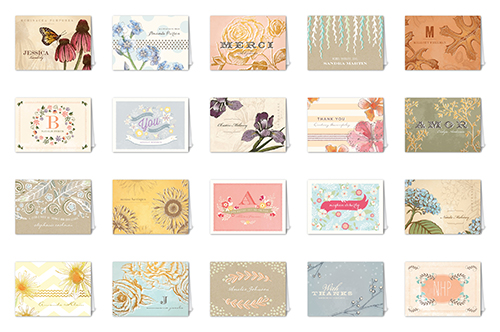 Vintage Fleur Mix & Match Stationery Set