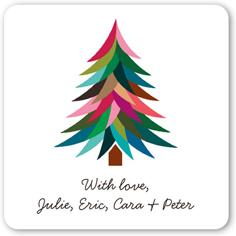 bright merry tree stickers