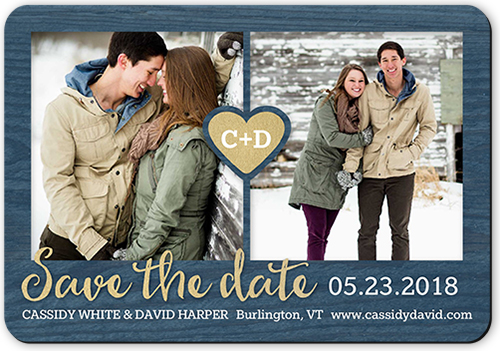 Love Connection Save The Date, Rounded Corners