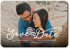 whimsical date save the date stationerymagnet