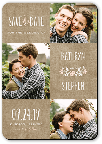 Wreathed In Love Save The Date Cards Shutterfly