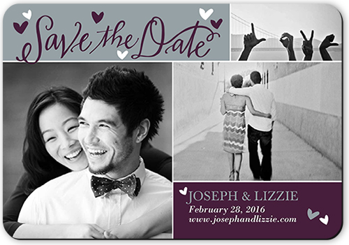 Cute Calligraphy Save The Date