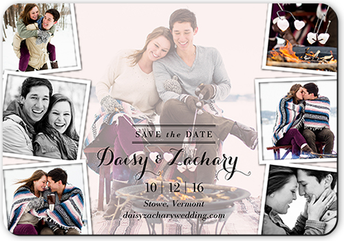 Layered Moments Save The Date