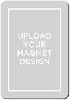 upload your own design wedding announcement stationerymagnet