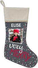 very merry christmas stocking