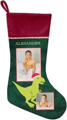 dinosaur merry rexmas christmas stocking