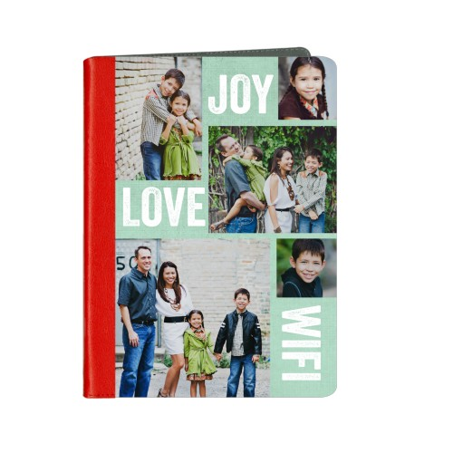 Joy Love Wifi ipad Case, Red, iPad Air, Air 2, Blue