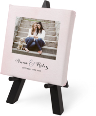 gallery of one tabletop canvas print