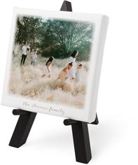bokeh frame tabletop canvas print