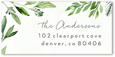 Tiny Prints: 120-Count Personalized Address Labels