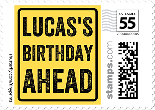 Pave The Way Personalized Postage Stamps