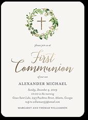 First Communion Invitations Tiny Prints