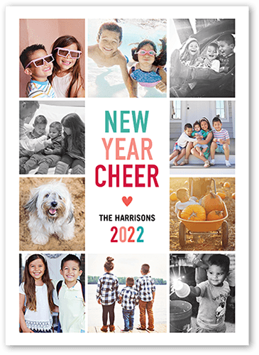 Surrounding Cheer New Year's Card