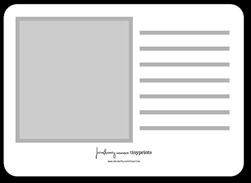 elegant ladies 5x7 stationery card by justina blakeney tiny prints