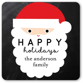 Santa Party Stickers