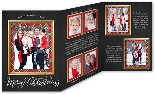 Delightful Frame Christmas Card