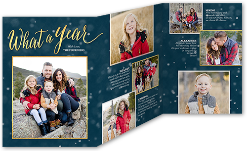 Image result for trifold christmas card