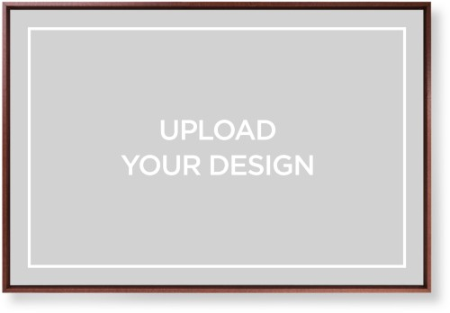 Upload Your Own Design Mounted Wall Art, Single piece, Brown, 24 x 36 inches, Multicolor
