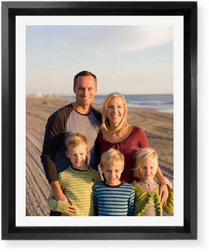 Gallery Frame Mounted Wall Art, Single piece, Black, 8 x 10 inches, Multicolor