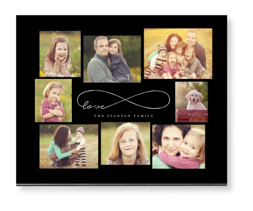 Love Infinity Mounted Wall Art, Single piece, None, 8 x 10 inches, DynamicColor
