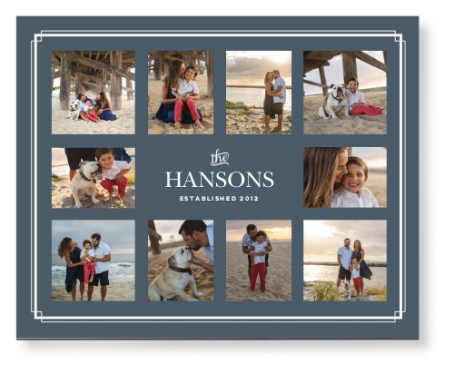 Family Border Collage Mounted Wall Art | Home Decor | Shutterfly