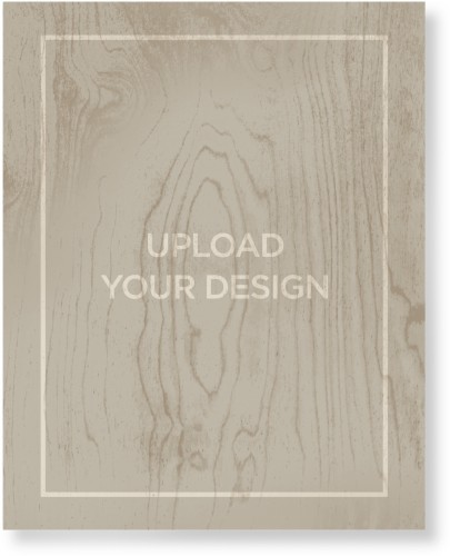 Upload Your Own Design Wood Wall Art, Single piece, 16 x 20 inches, Multicolor