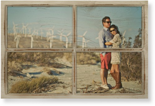 Printed Frame Wood Wall Art, Single piece, 24 x 36 inches, Beige