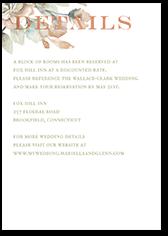 diamond blossoms wedding enclosure card