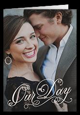 forever lovely day wedding program