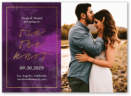 Romantic Affair Save The Date, Square