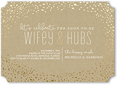 custom color palette colors of this design can be customized shiny celebration engagement party invitation from 164 082