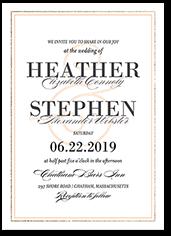 victorian splendor wedding invitation