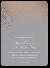 diamond sky wedding invitation