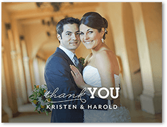 4x5 Wedding Thank You Cards Shutterfly